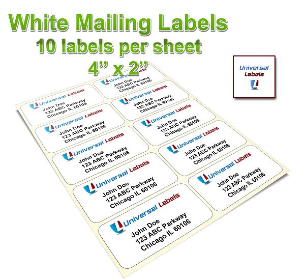 10 labels per sheet universallabels