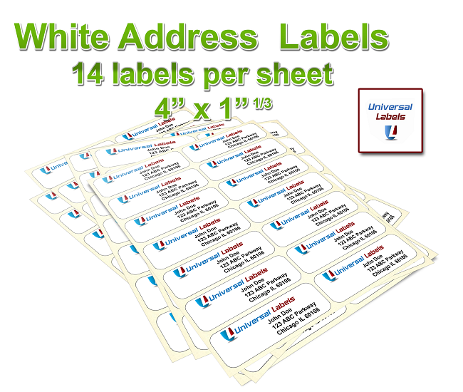 Avery 5162 Template: (14) Labels Per Sheet